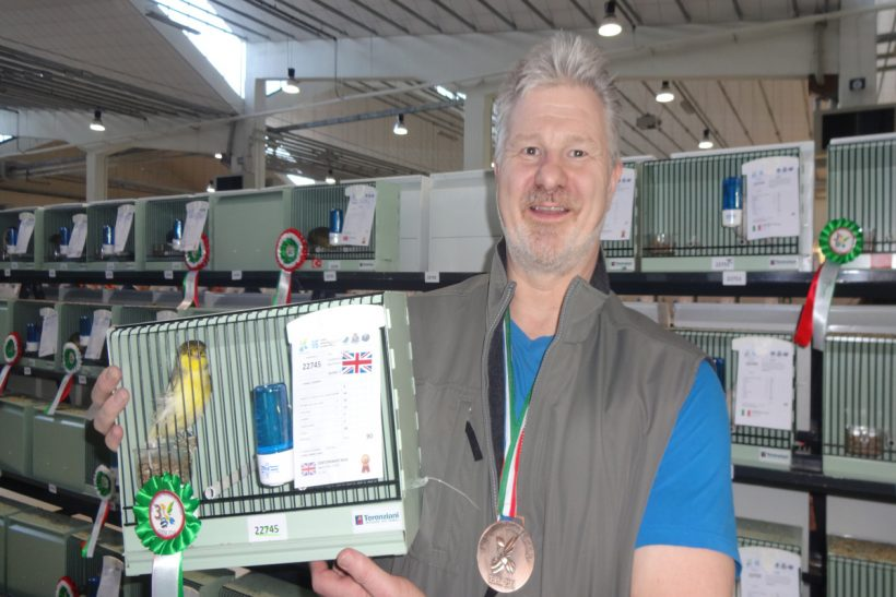 UK canary stams clean up and Belgian medal count comes second to host Italy