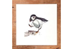 Exclusive print to raise money for puffins