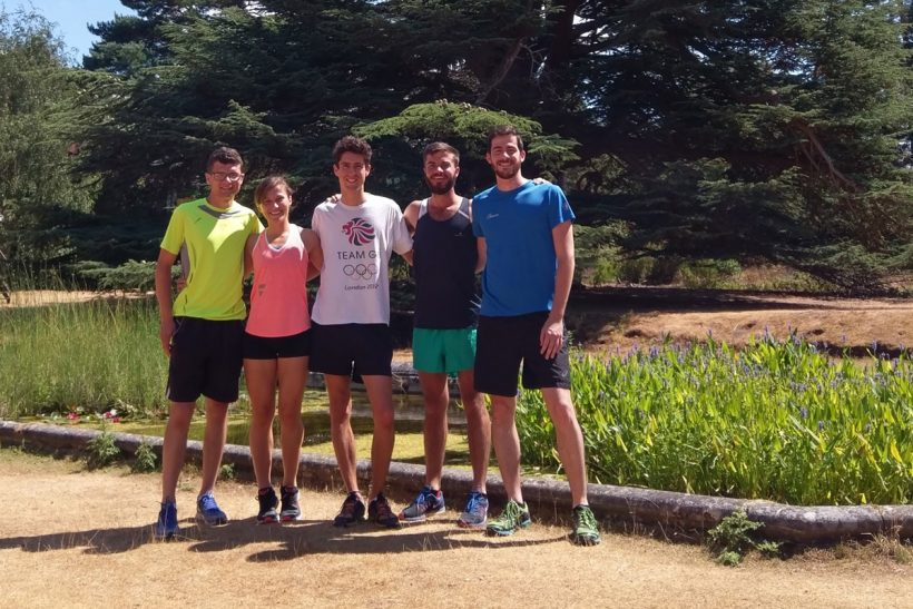 Students tackle 13-mile race for conservation charity DWCT