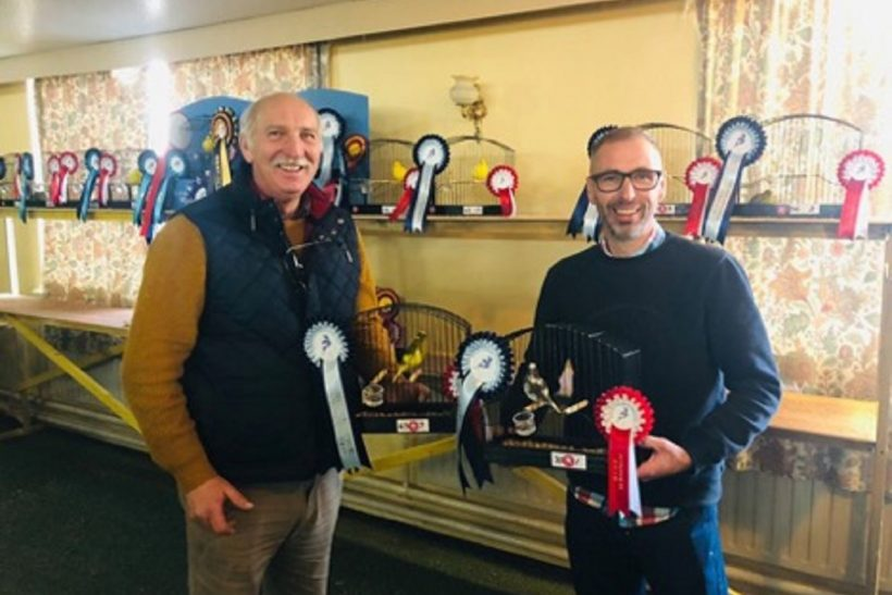 Canary exhibitors rise to the challenge in Fife Fancier of the Year competition