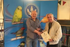Two internationally recognised canary breeders join NCA's famous honours list