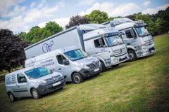 Livestock courier is 'busier than ever' during lockdown